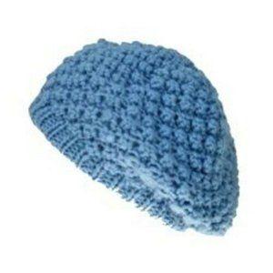😀 3 for $20 NWT Pugs Gear Crochet Knit Beret Hat